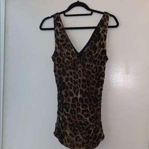 Express / Leopard Tank / Sexy night out / size L